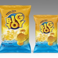 Batata Ondulada Big Toy natural 40g e 80g